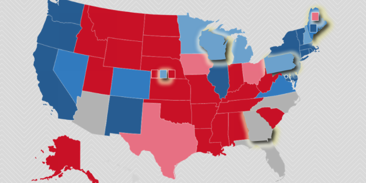 Picture of: New July 2020 Electoral College Ratings The Cook Political Report